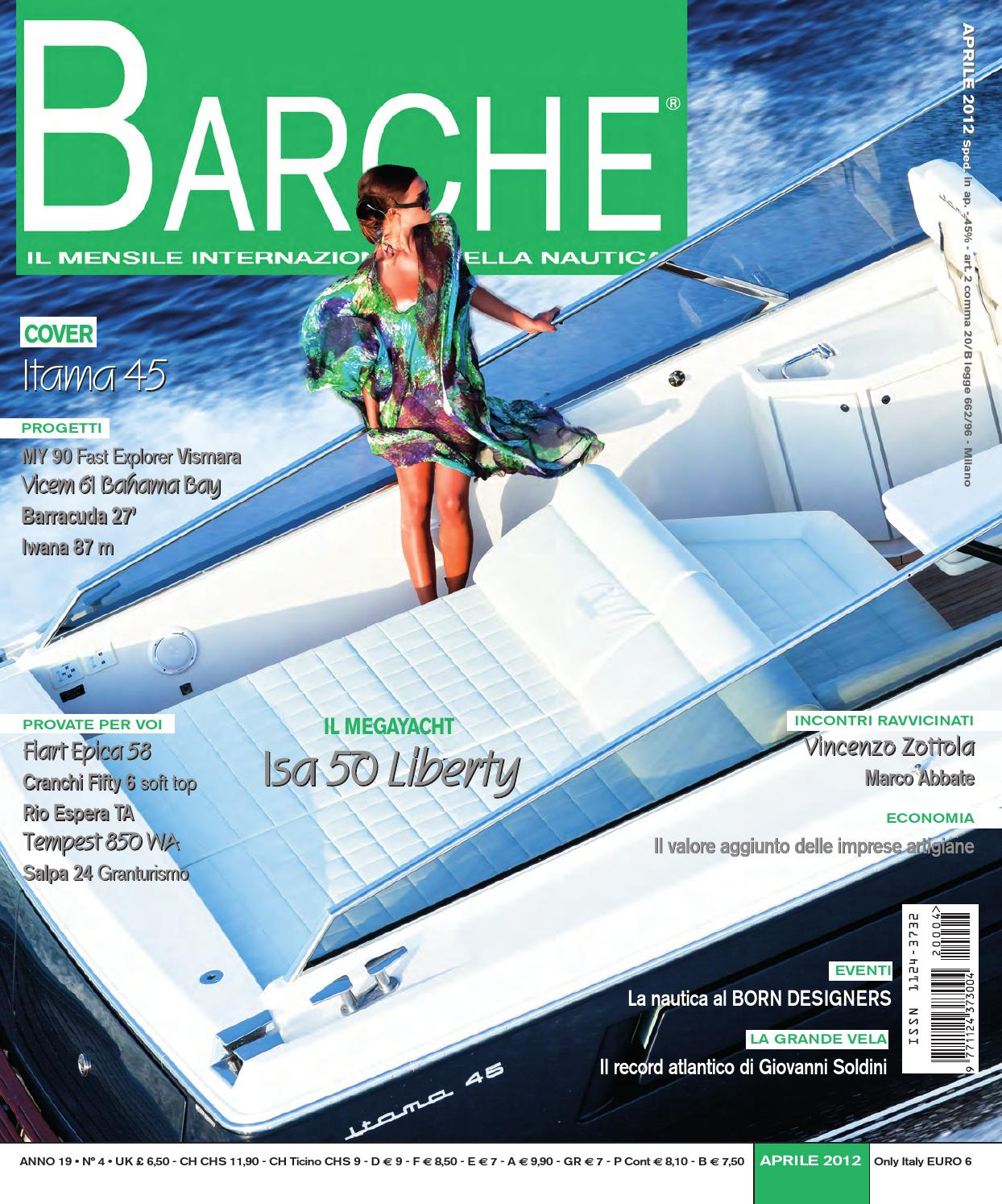 Barche aprile 2012 by INTERNATIONAL SEA PRESS SRL - BARCHE - issuu 3c92d979961