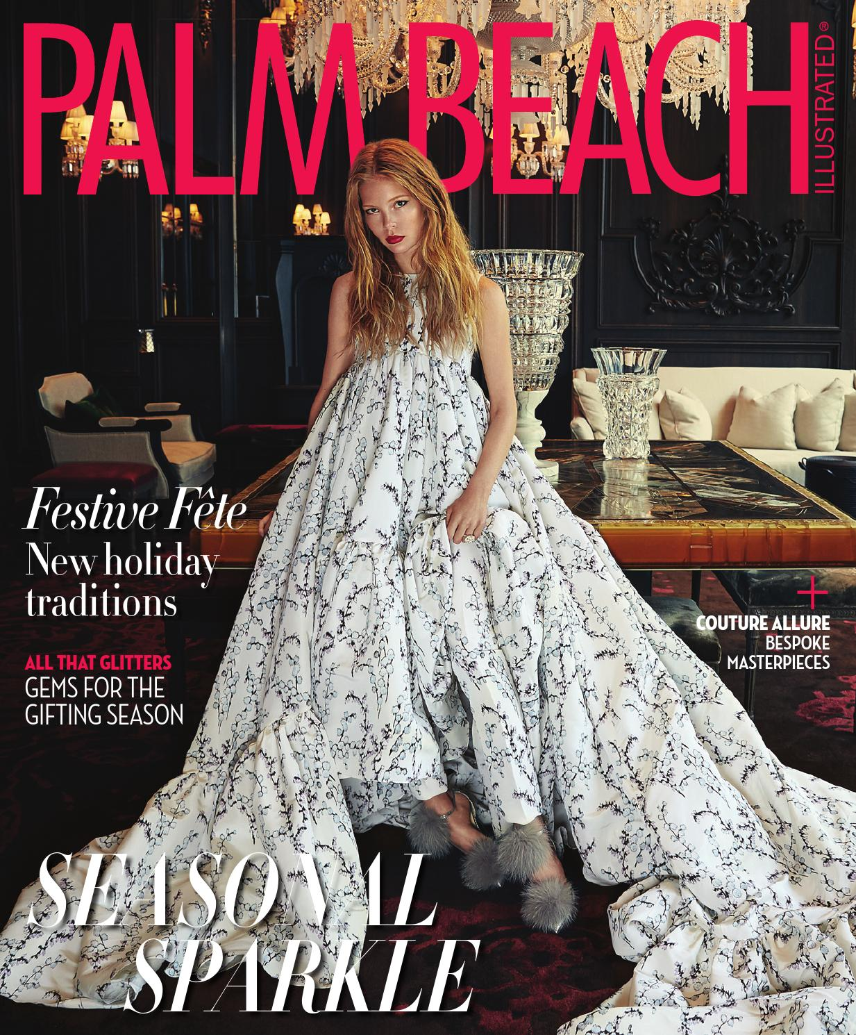 Palm Beach Illustrated December 2015 By Media Group Issuu Bennett Flo Pearlised Leather Cluth Pink