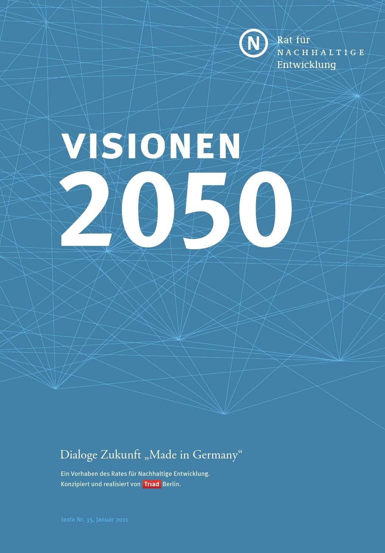Dialoge Zukunft - Visionen 2050 by NUR zur INFO - issuu