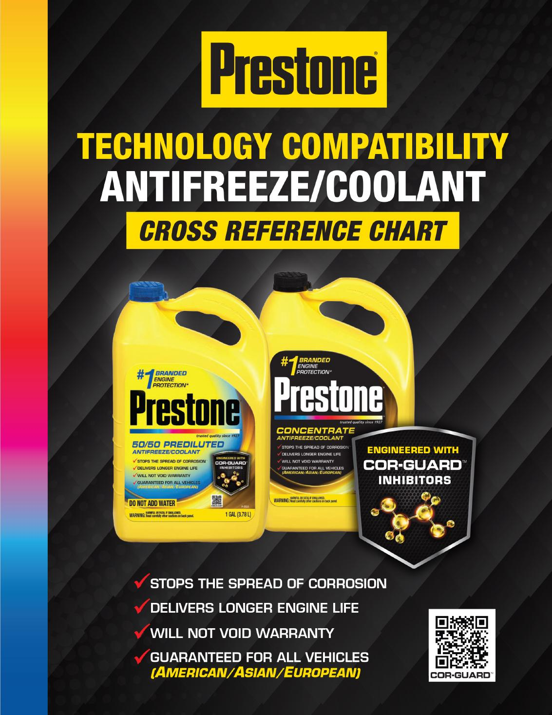 Technology Compatibility Chart By Prestone Issuu