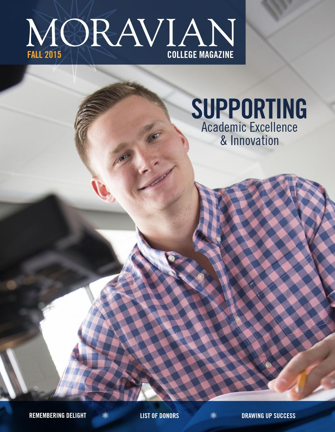 51ae11f9f363 Moravian College Magazine - Fall 2015 by Moravian College - issuu