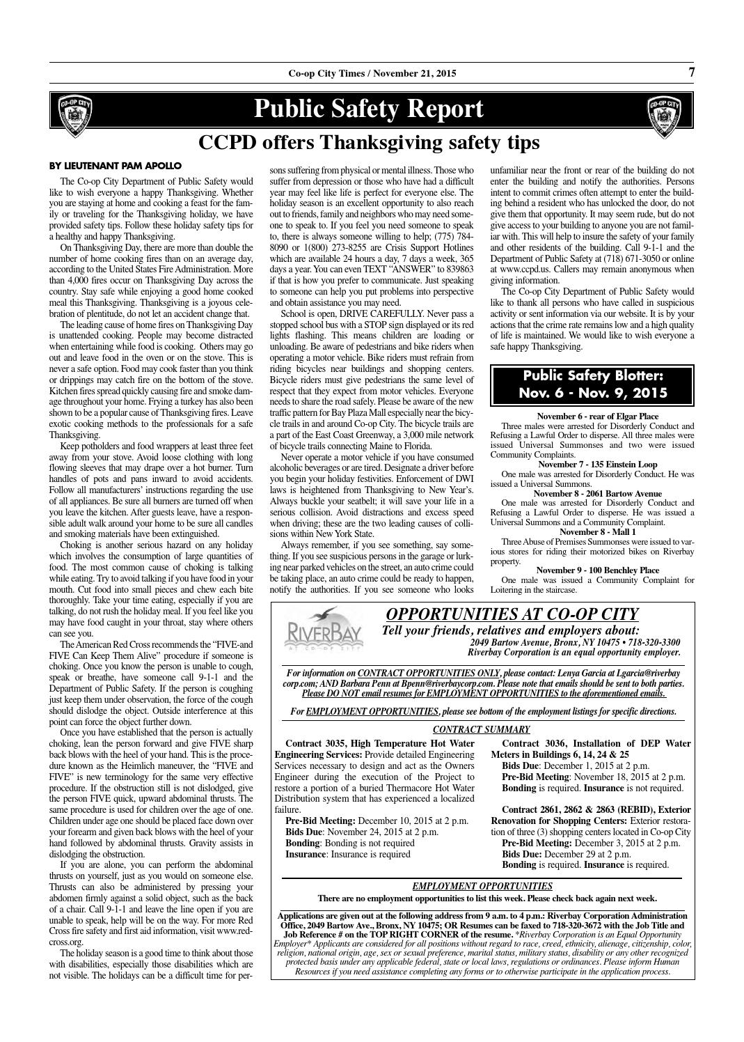 Co-op City Times 11/21/15 by Co-op City Times - issuu