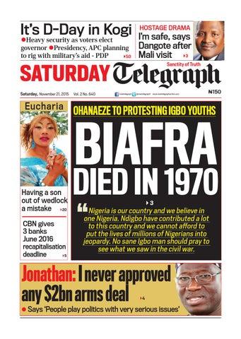New telegraph online nigeria dating