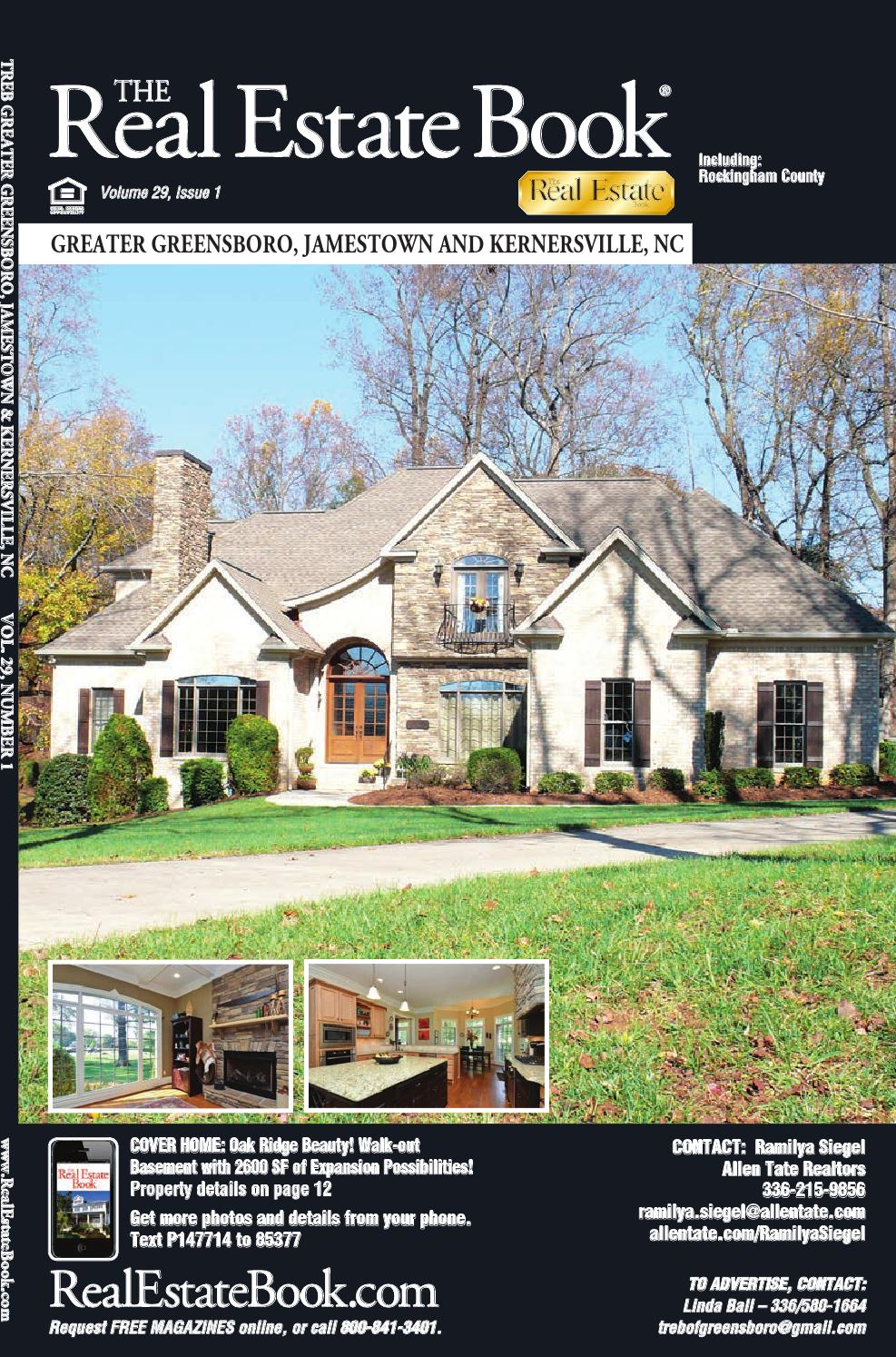 Greater greensboro jamestown and kernersville nc v29n1 for New home construction kernersville nc
