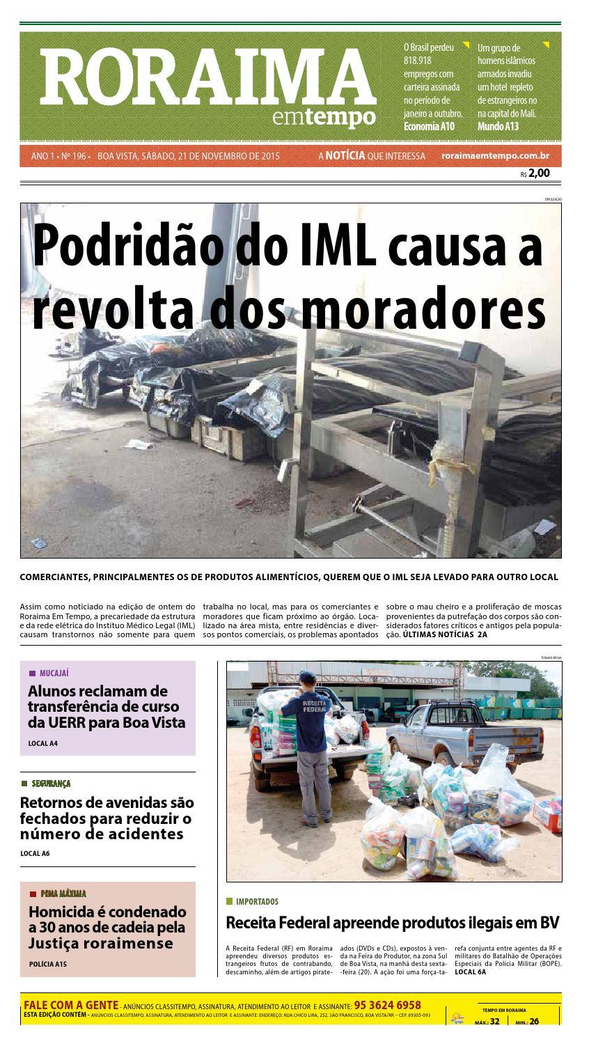 Jornal roraima em tempo – edição 196 – período de visualização gratuito by  RoraimaEmTempo - issuu 7577f221099b4