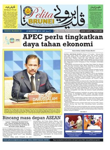 Pelita Brunei Sabtu 21 Nov 2015 By Putera Katak Brunei Issuu