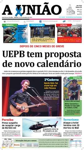 063b32a8d1 Jornal A União - 21 11 2015 by Jornal A União - issuu