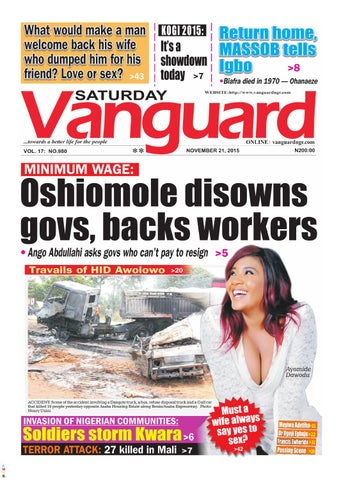 Minimum Wage Oshiomole Disowns Govs Backs Workers By Vanguard