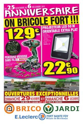 Anniversaire Brico Jardi E Leclerc By Centre Commercial