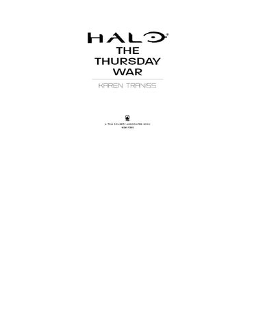 Halo Books | The Thursday War by White Horse - issuu on