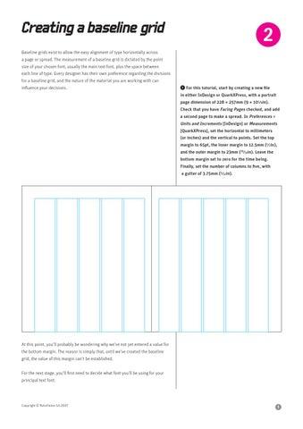 Baseline grids by Nerijus Pudziuvelis - issuu