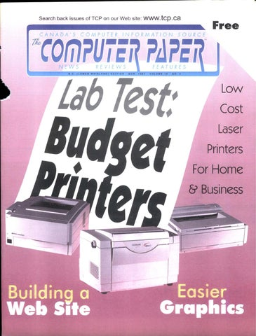 1997 03 The Computer Paper - BC Edition by The Computer Paper - issuu