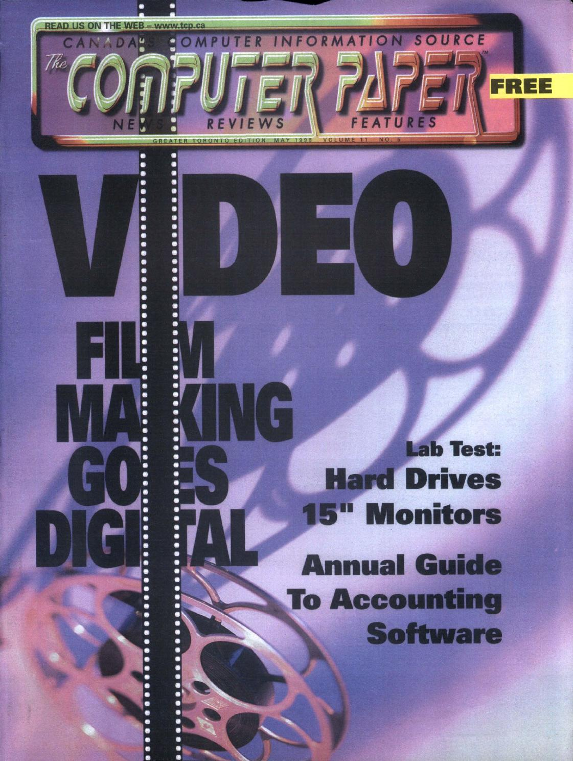 1998 05 The Computer Paper - Ontario Edition by The Computer Paper - issuu