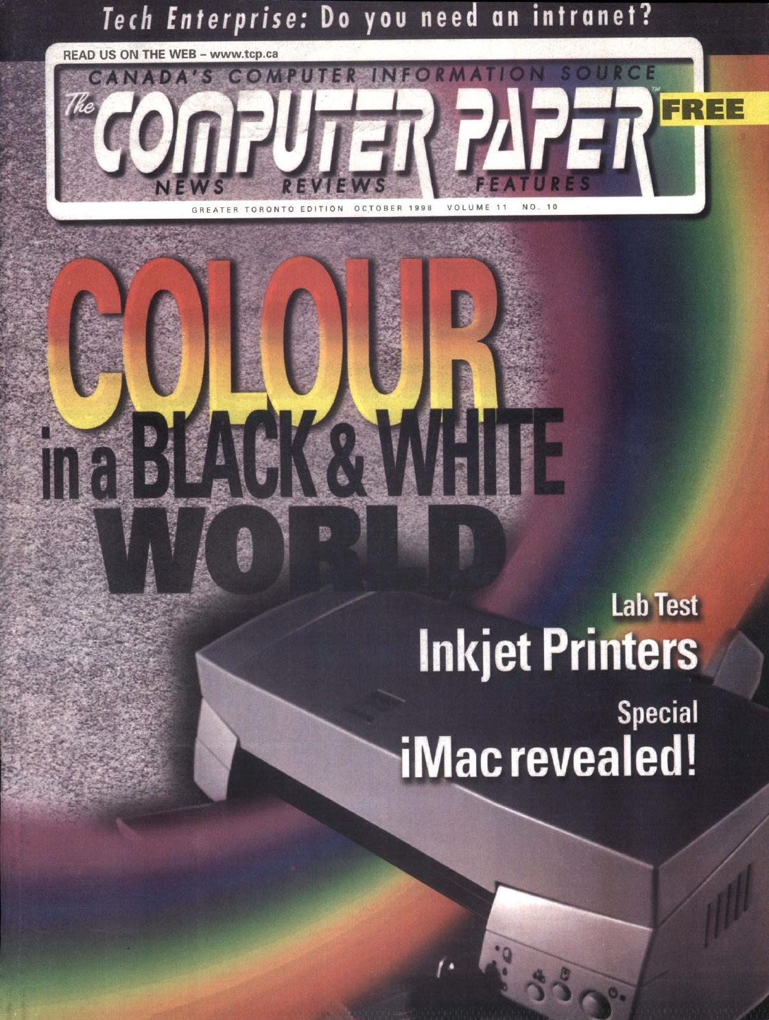 1998 10 The Computer Paper - Ontario Edition by The Computer Paper - issuu