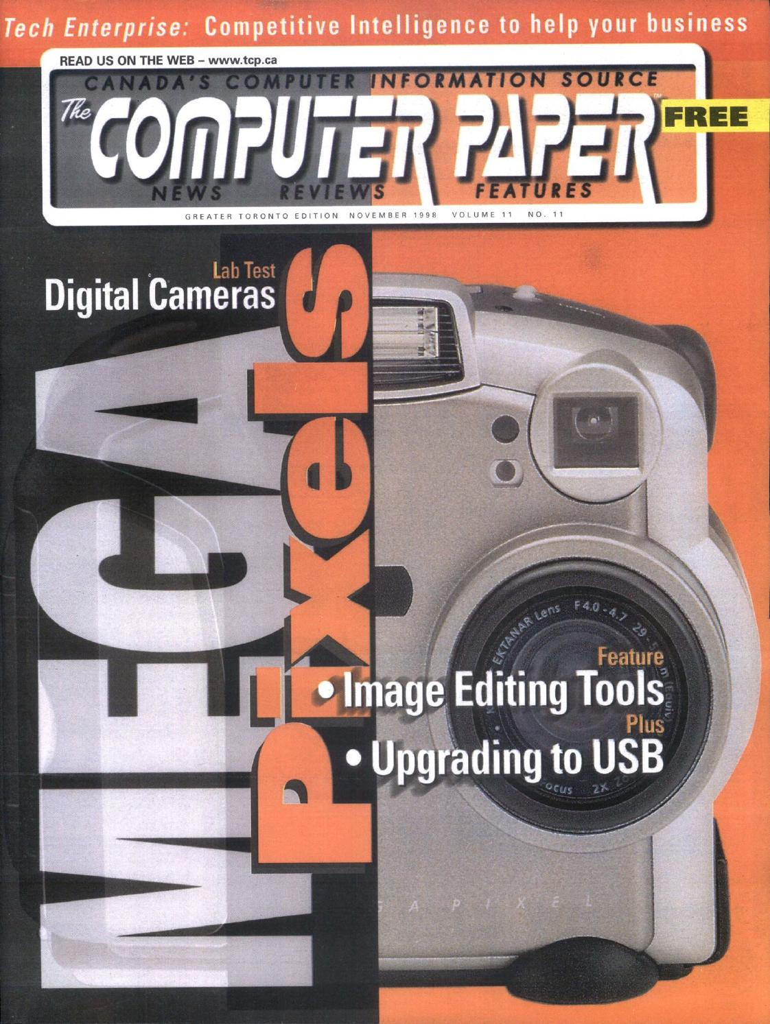 1998 11 The puter Paper tario Edition by The puter Paper