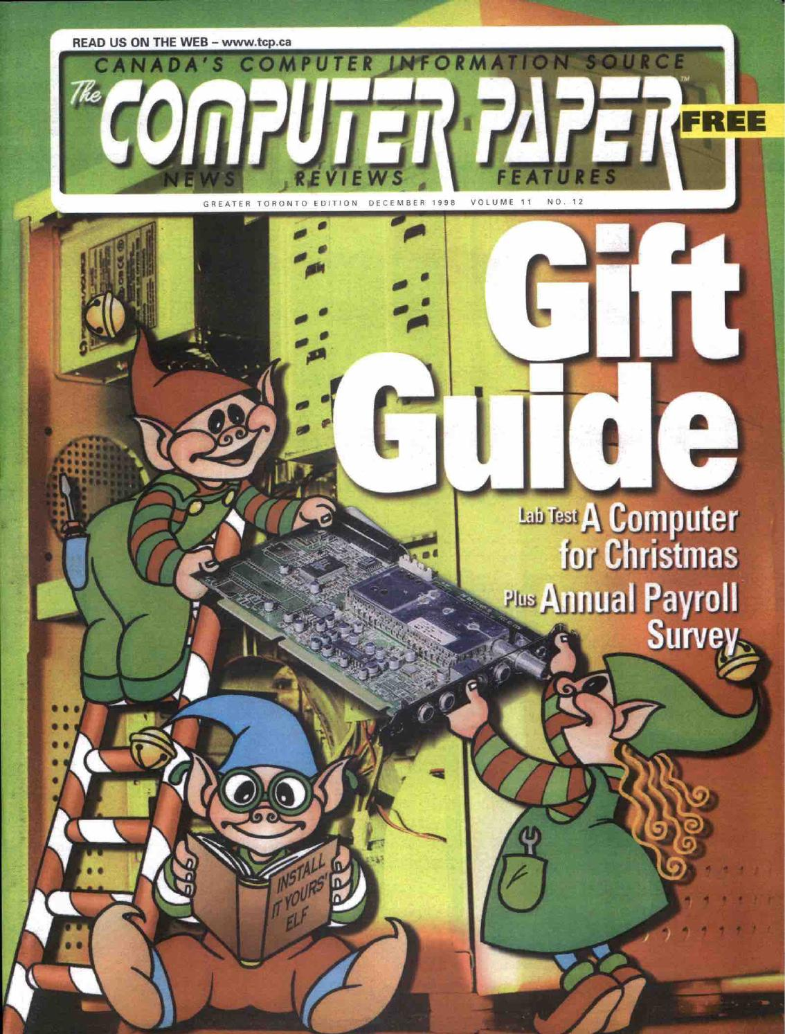 7401af78974 1998 12 The Computer Paper - Ontario Edition by The Computer Paper - issuu