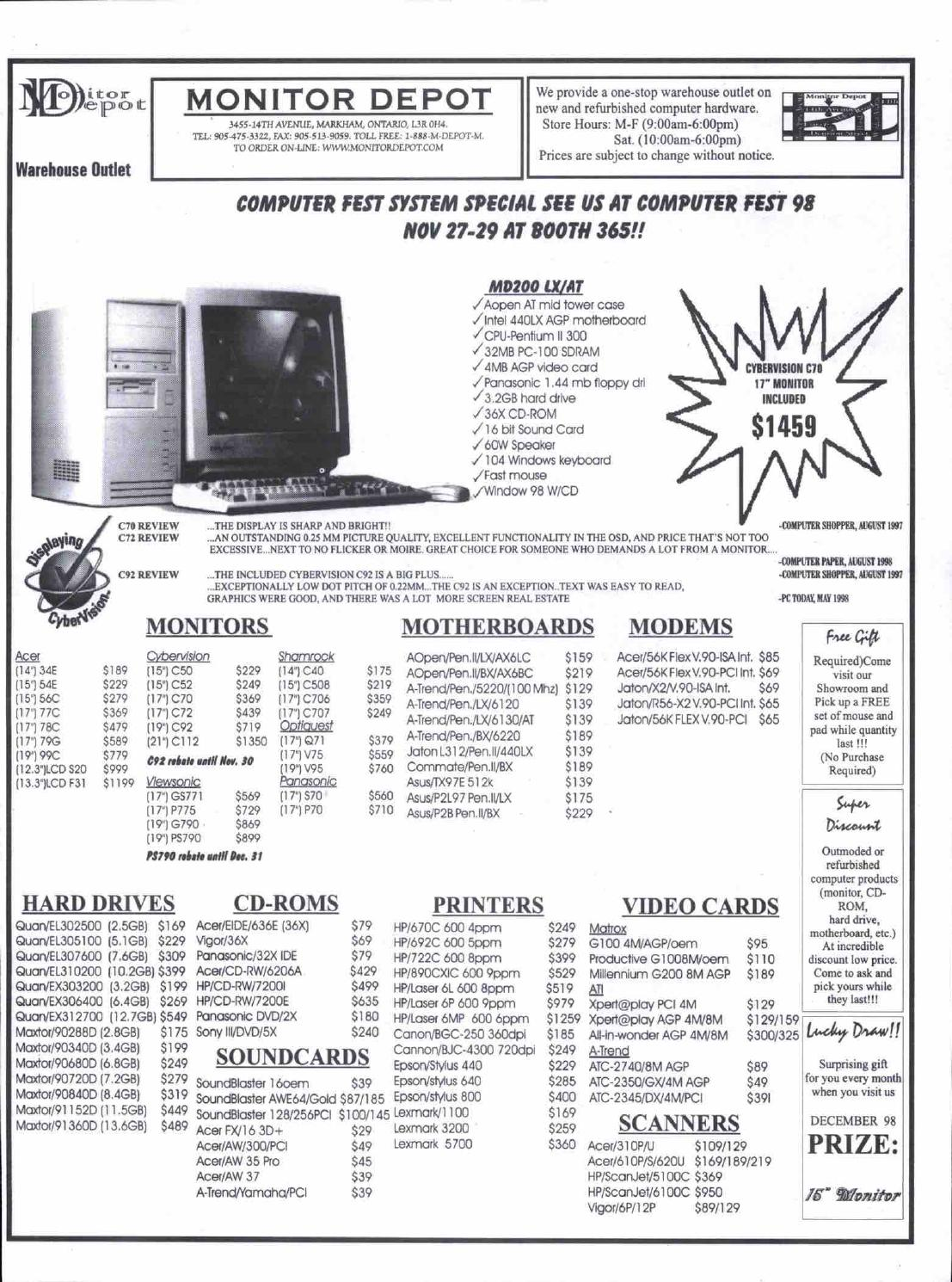 CYBERVISION C70 MONITOR DRIVER FREE