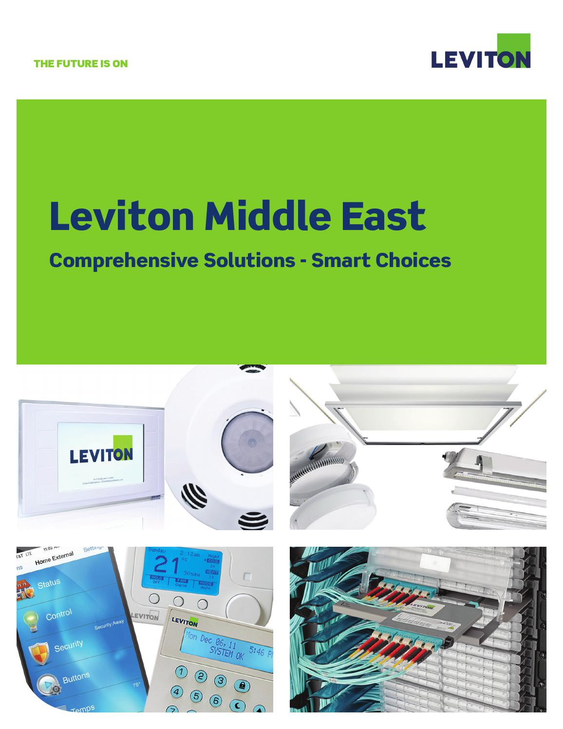 Leviton middle east product catalogue by SENTOR ELECTRICAL - issuu
