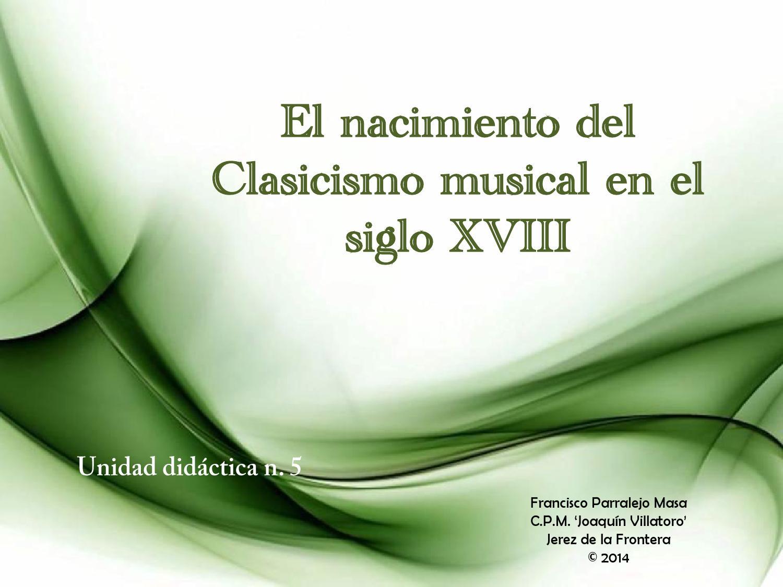 2º Historia De La Música Diapositivas Del Curso By
