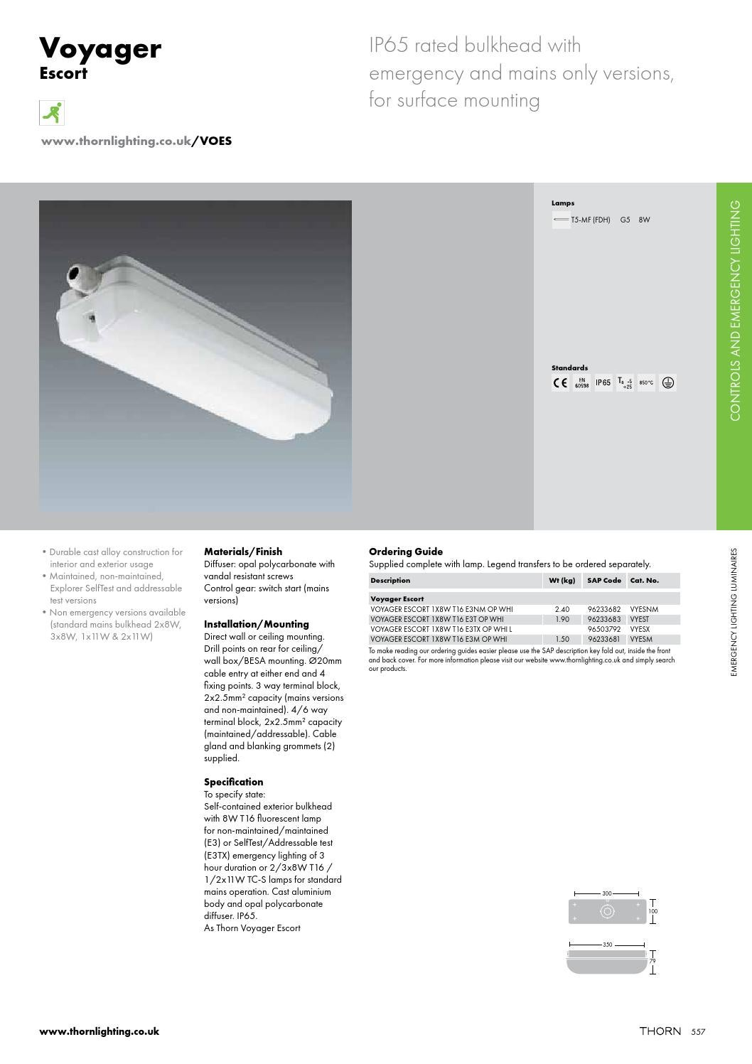 Thorn Product Catalogue 20142015 Part 2 By Sentor Electrical Issuu 3 Way Switch End Of Line