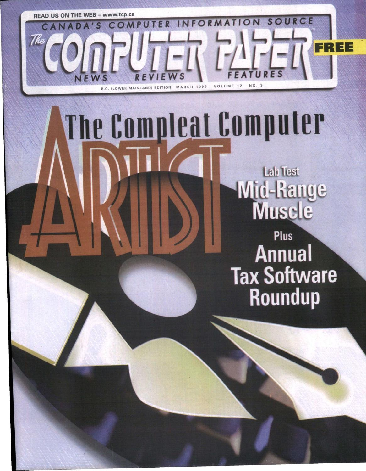 1999 03 The Computer Paper Bc Edition By The Computer Paper Issuu