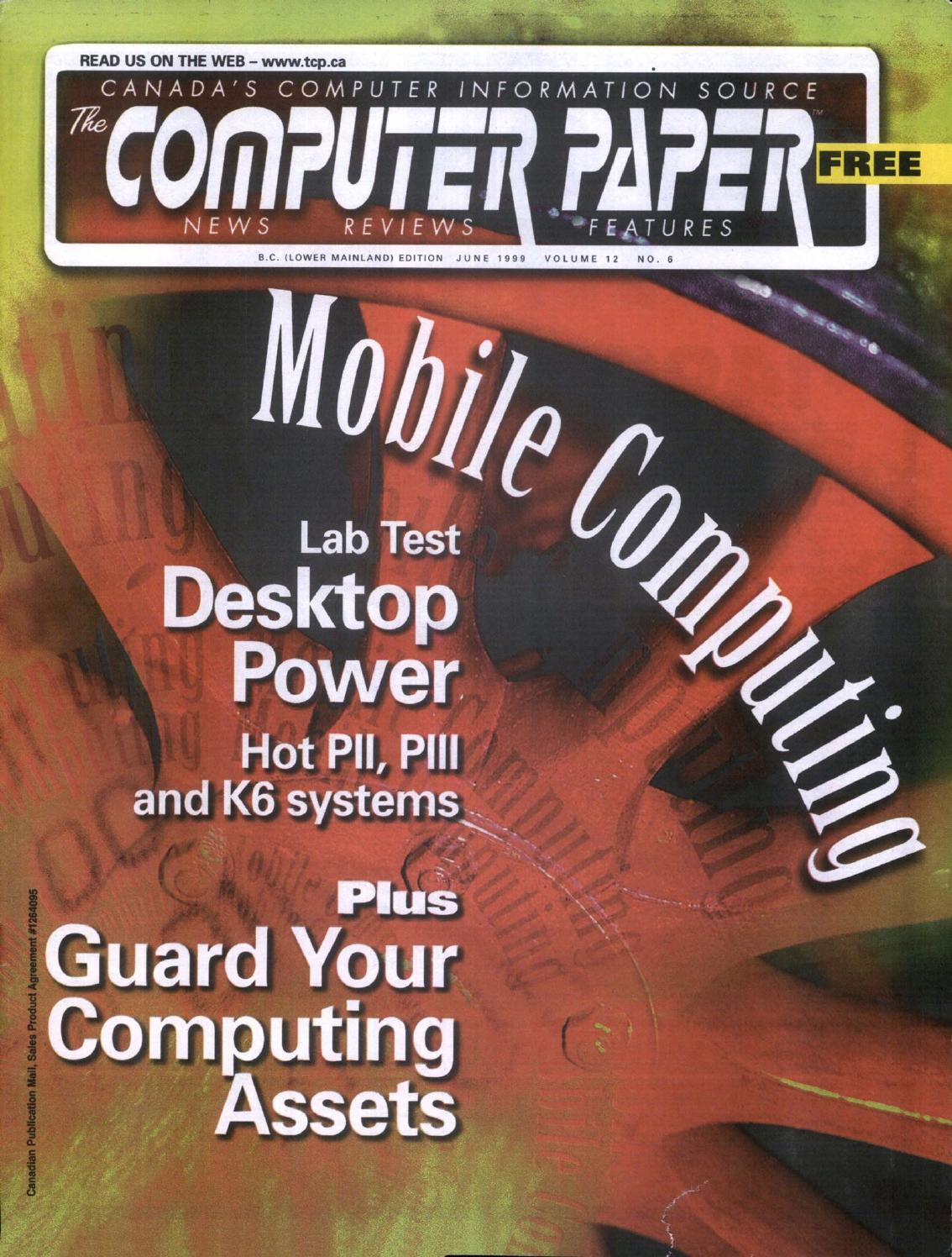 1999 06 the computer paper bc edition by the computer paper issuu fandeluxe Gallery
