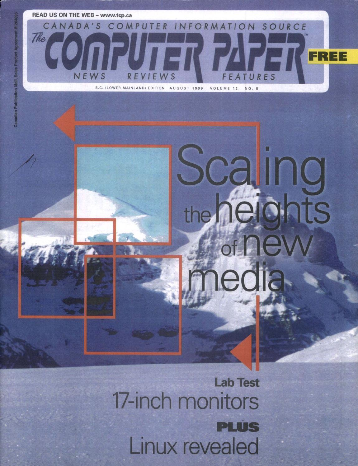 1999 08 The Computer Paper Bc Edition By The Computer Paper Issuu