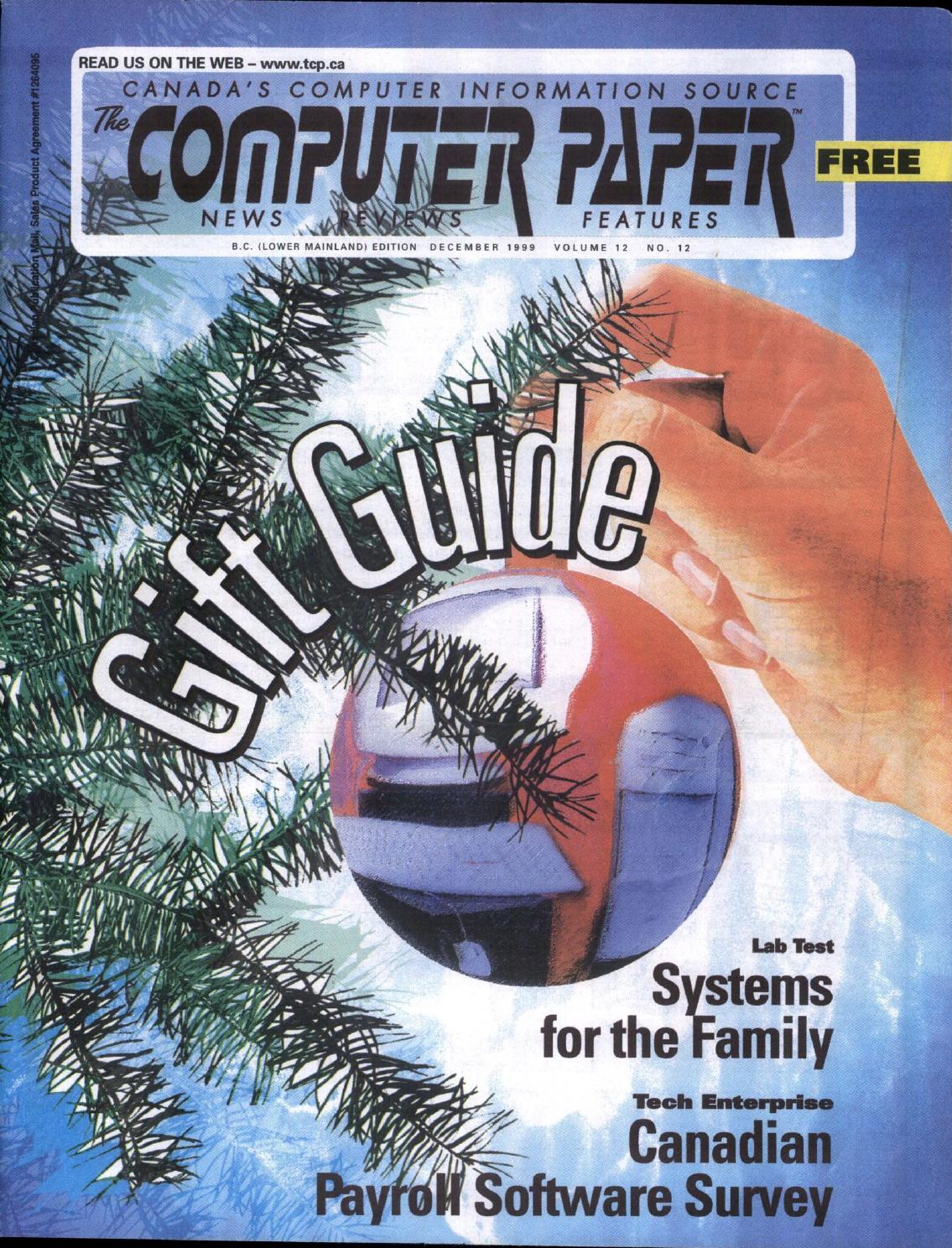 1999 12 The Computer Paper Bc Edition By Issuu North Bayou F80 Bracket Led Tv 17i 27i Gas Strut Flexy Mount Desktop