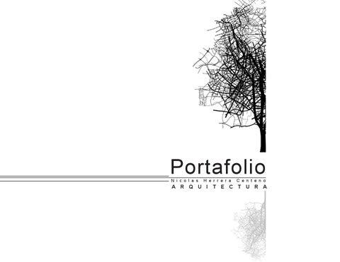 Portafolio arquitectura by nicolas herrera centeno issuu for Portafolio arquitectura