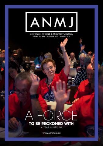 Anmj Dec 2015 Jan 2016 By Australian Nursing Midwifery Journal