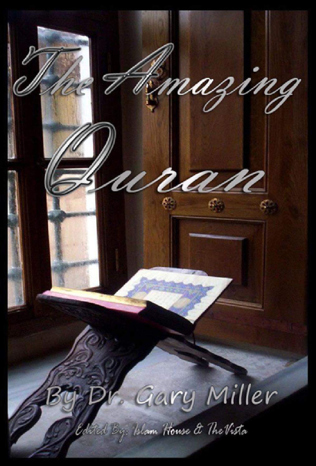 BOOK The Amazing Quran DR Garry Miller PDF by issuu aacc - issuu