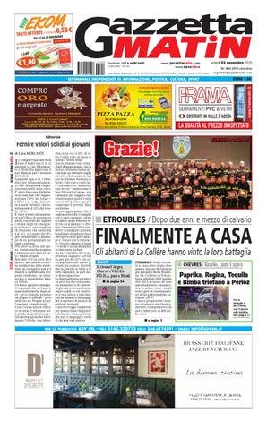 Gazzetta Matin del 23 novembre 2015 by NewsVDA - issuu cebdc0069d0