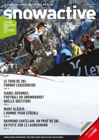 6222225fed5725 Snowactive f dezember 2015 by Swiss-Ski - issuu