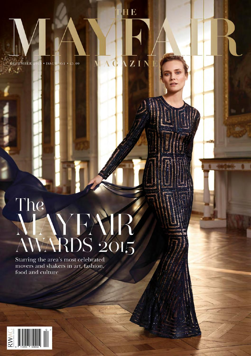 The Mayfair Magazine December 2015 By Runwild Media Group