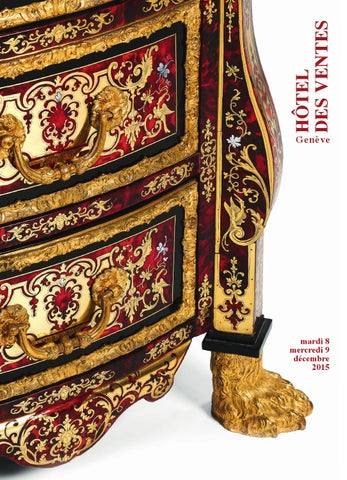 6d298f5aaf Hdv vente decembre 2015 catalogue principale by Piguet Hôtel des ...