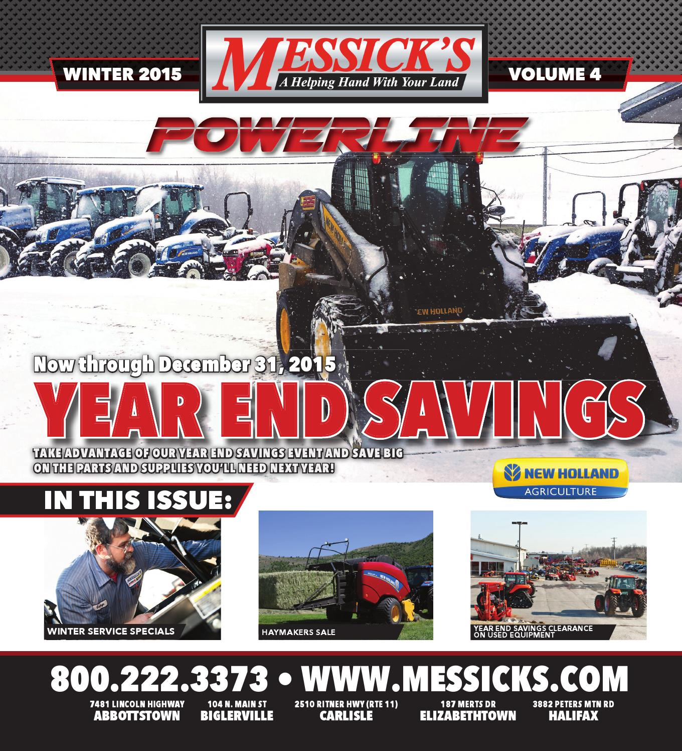 Messicks Powerline V4 - Year End Savings Edition by Messick's ... on