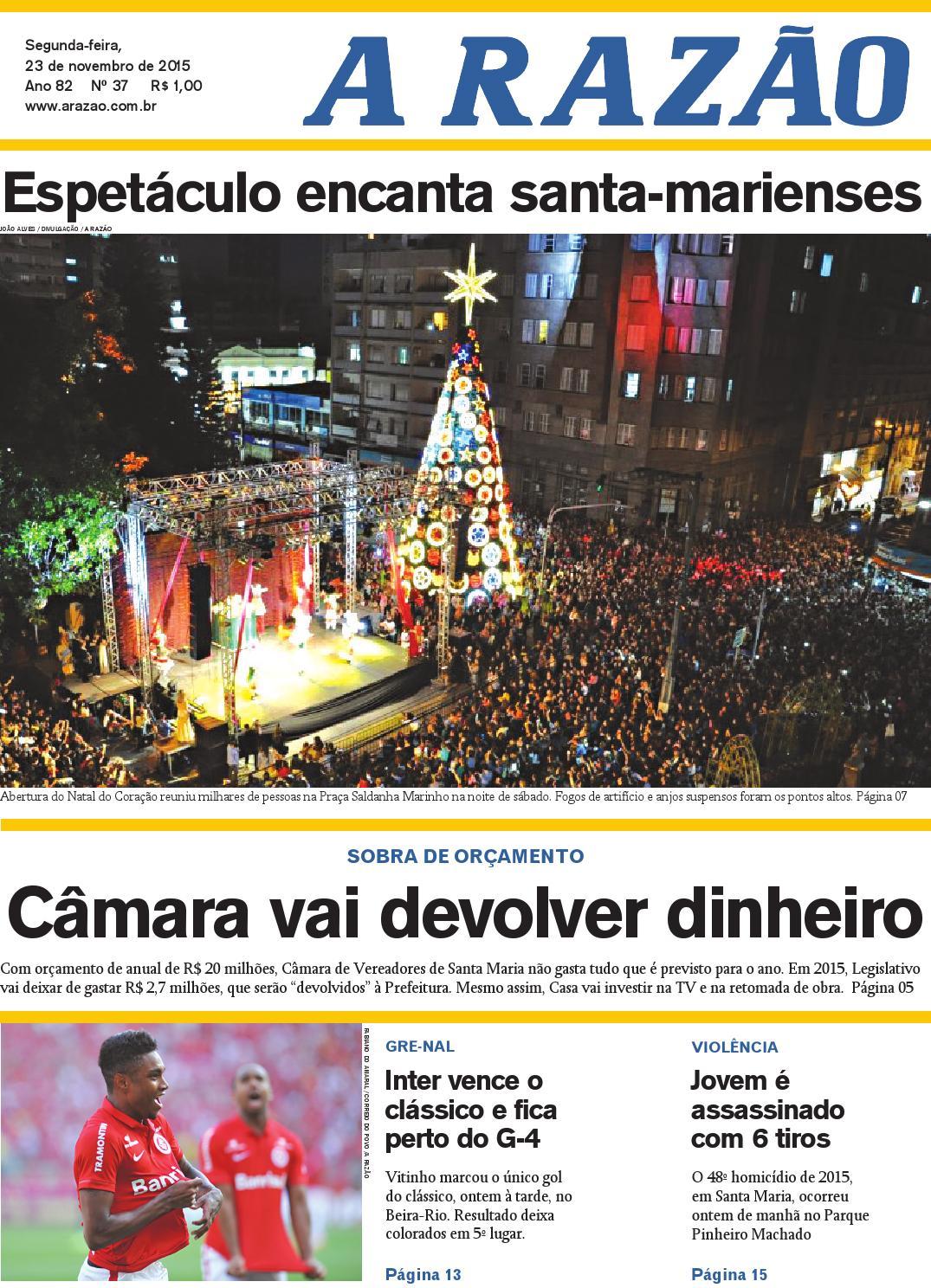 17f09534d1 Jornal A Razão 23 11 2015 by Jornal A Razão - issuu