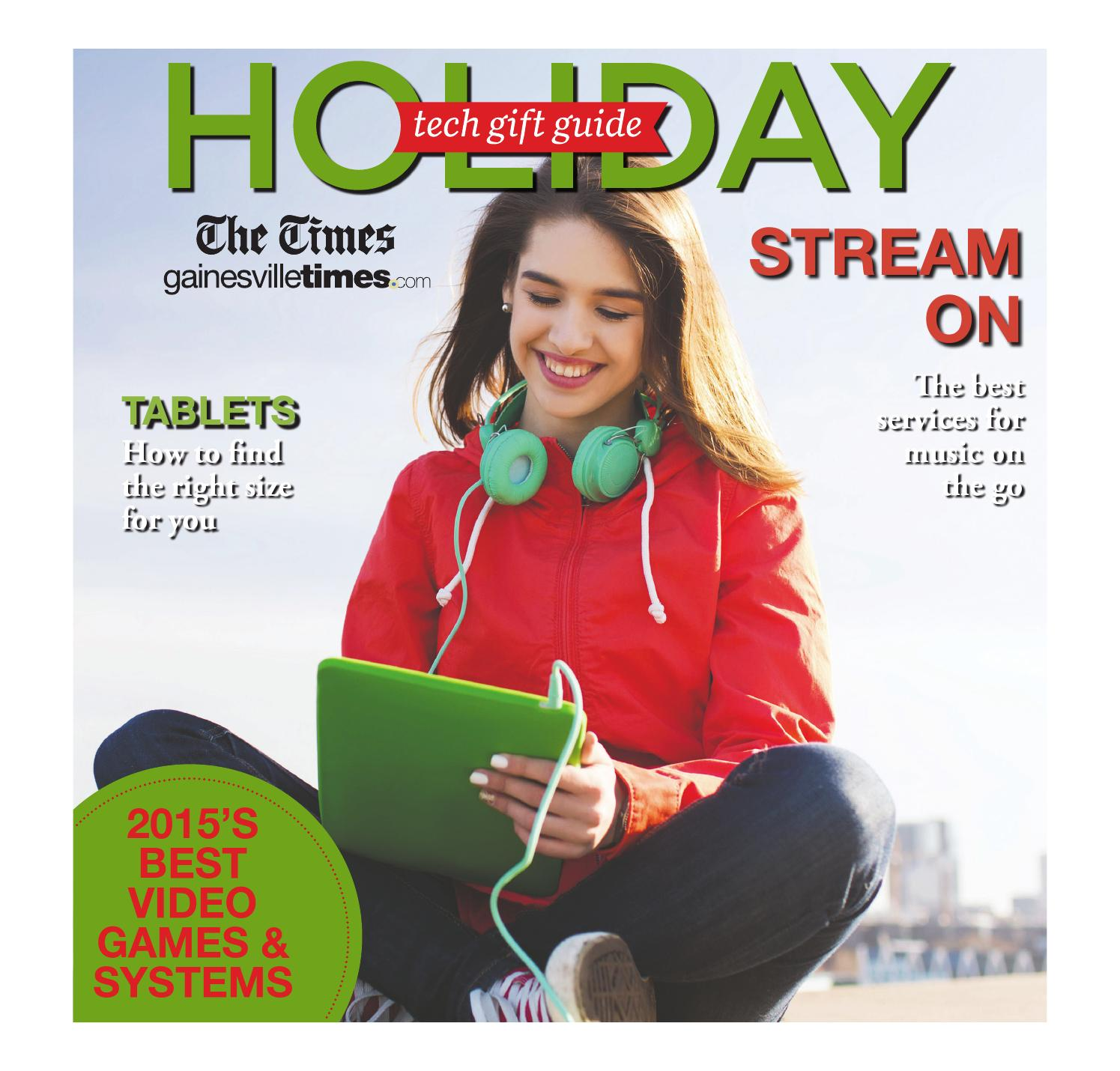Holiday Tech Gift Guide 2015 by The Times - issuu