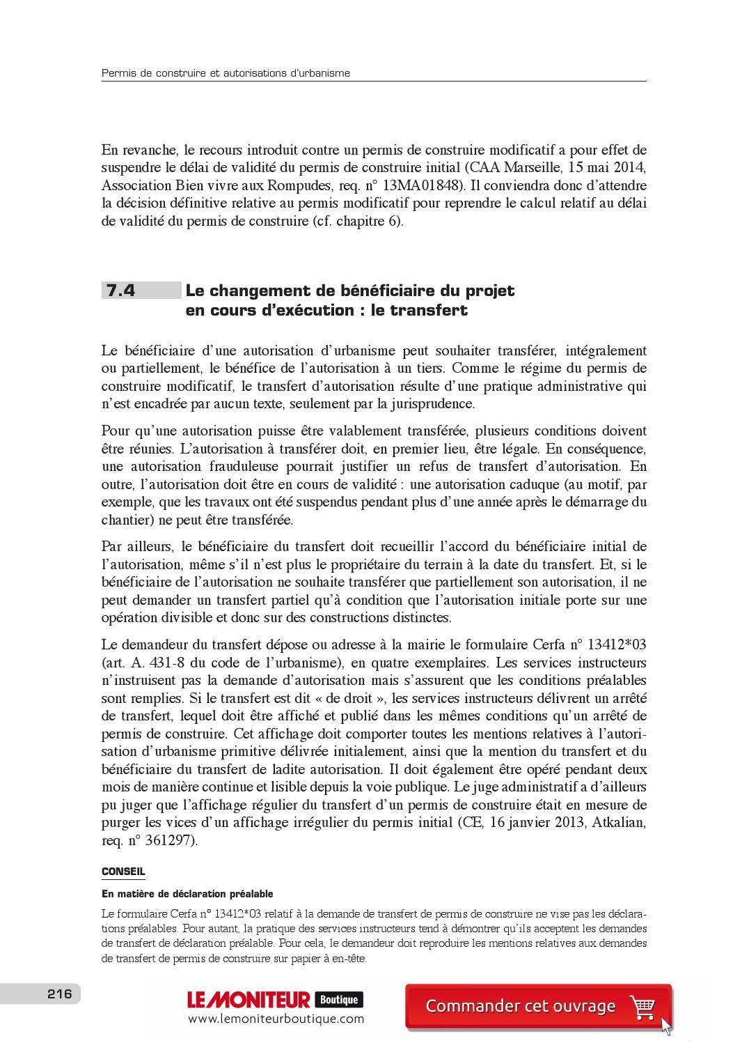 Permis De Construire Et Autorisations D Urbanisme 2015 By Infopro