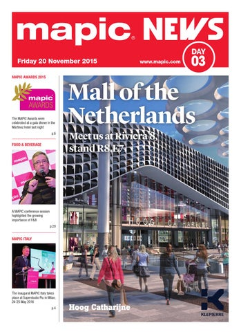 8b4d4f3960 Mapic 2015 news 3 by REED MIDEM REAL ESTATE SHOWS - issuu