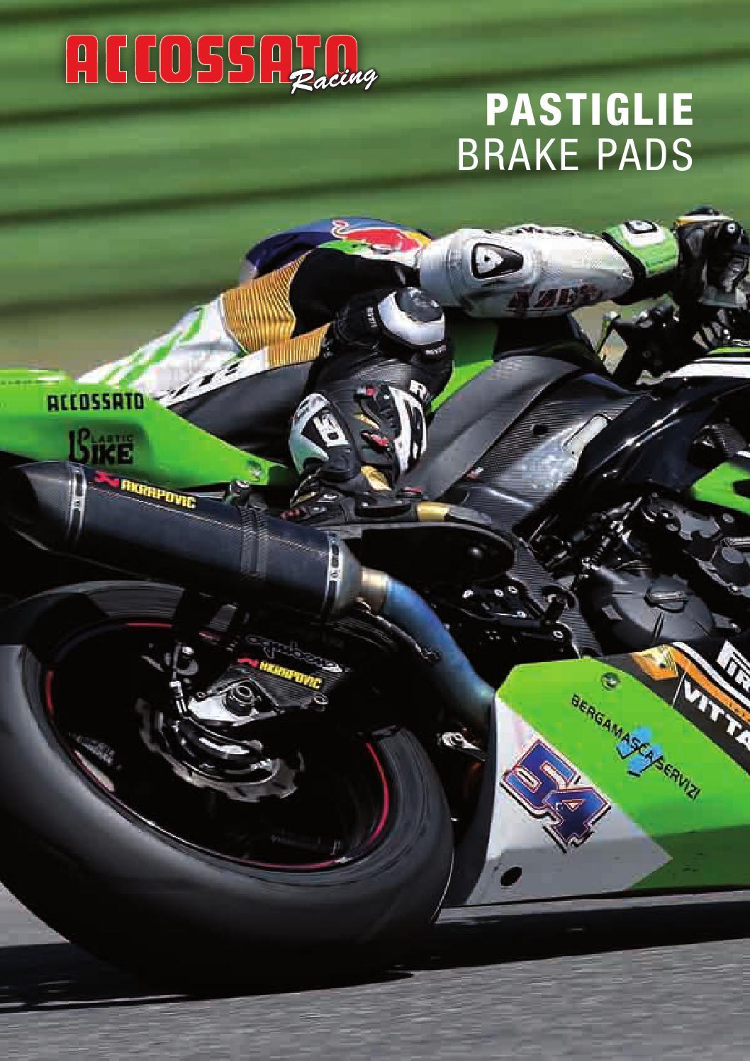Brake Pads FA408 Rear For Yamaha YP400 S Majesty 2004-2012 K