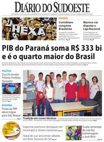 7cf2e4e2e6 Diário do sudoeste 20 de novembro de 2015 ed 6515 by Diário do ...