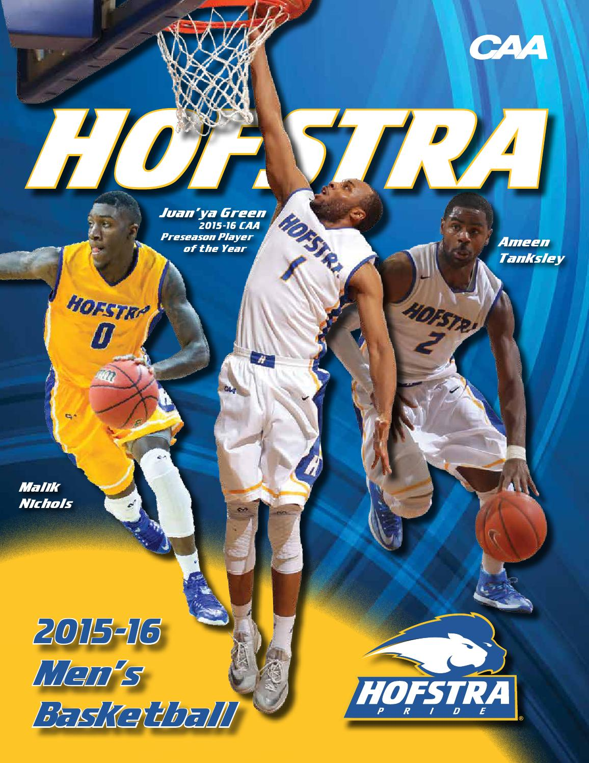 2015-16 Hofstra University Men's Basketball Virtual Guide ...