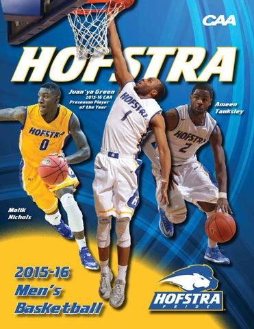 2015-16 Hofstra University Men s Basketball Virtual Guide by Hofstra ... cb332bf15