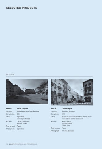 Page 180 of BIGMAT '15 SELECTED PROJECTS