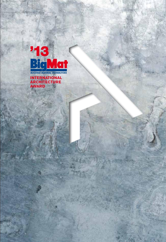 Bmiaa 13 Catalogue By Bigmat International Architecture