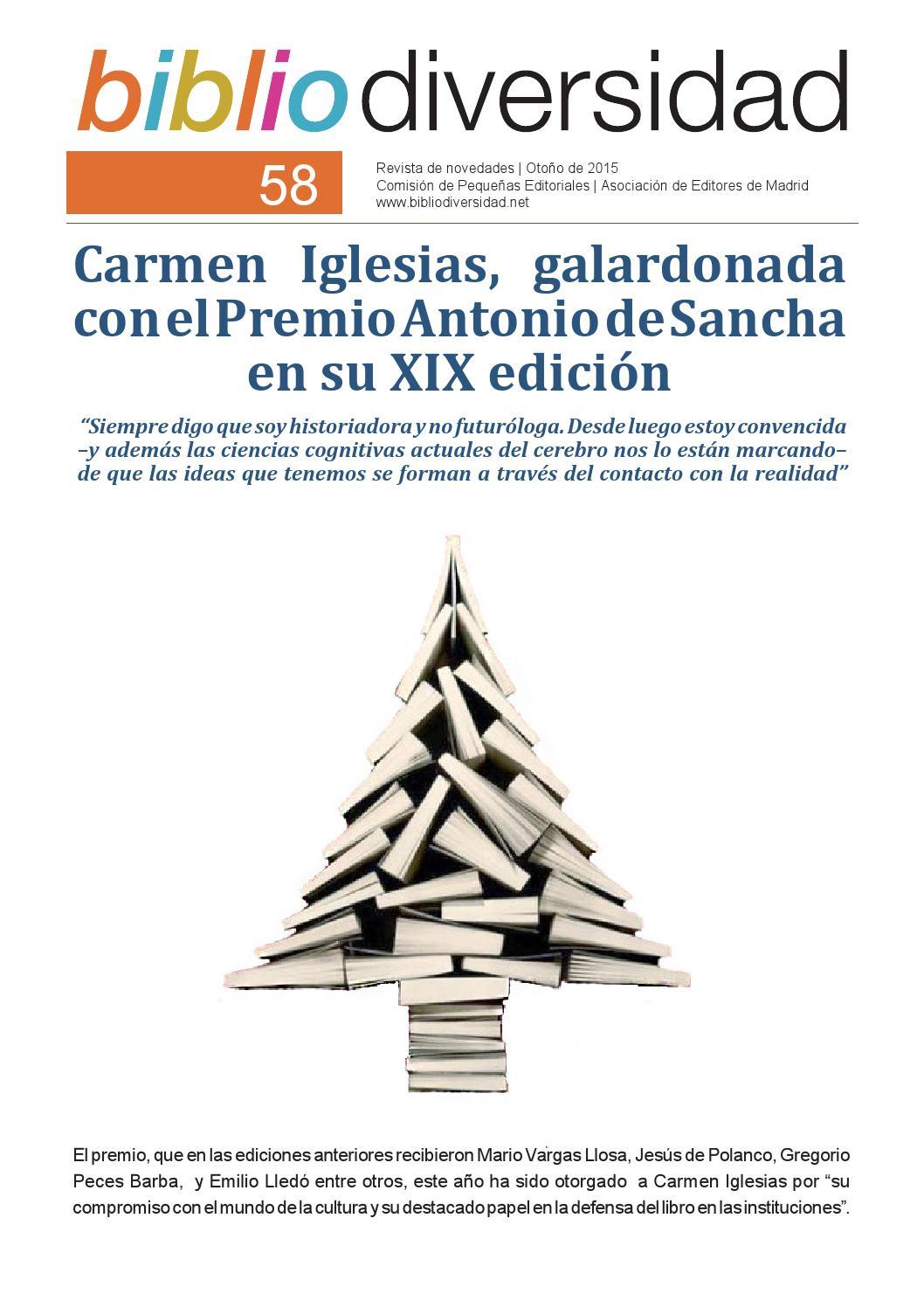 Resvista Bibliodiversidad - número 58 - 2015 by Dialogue - issuu