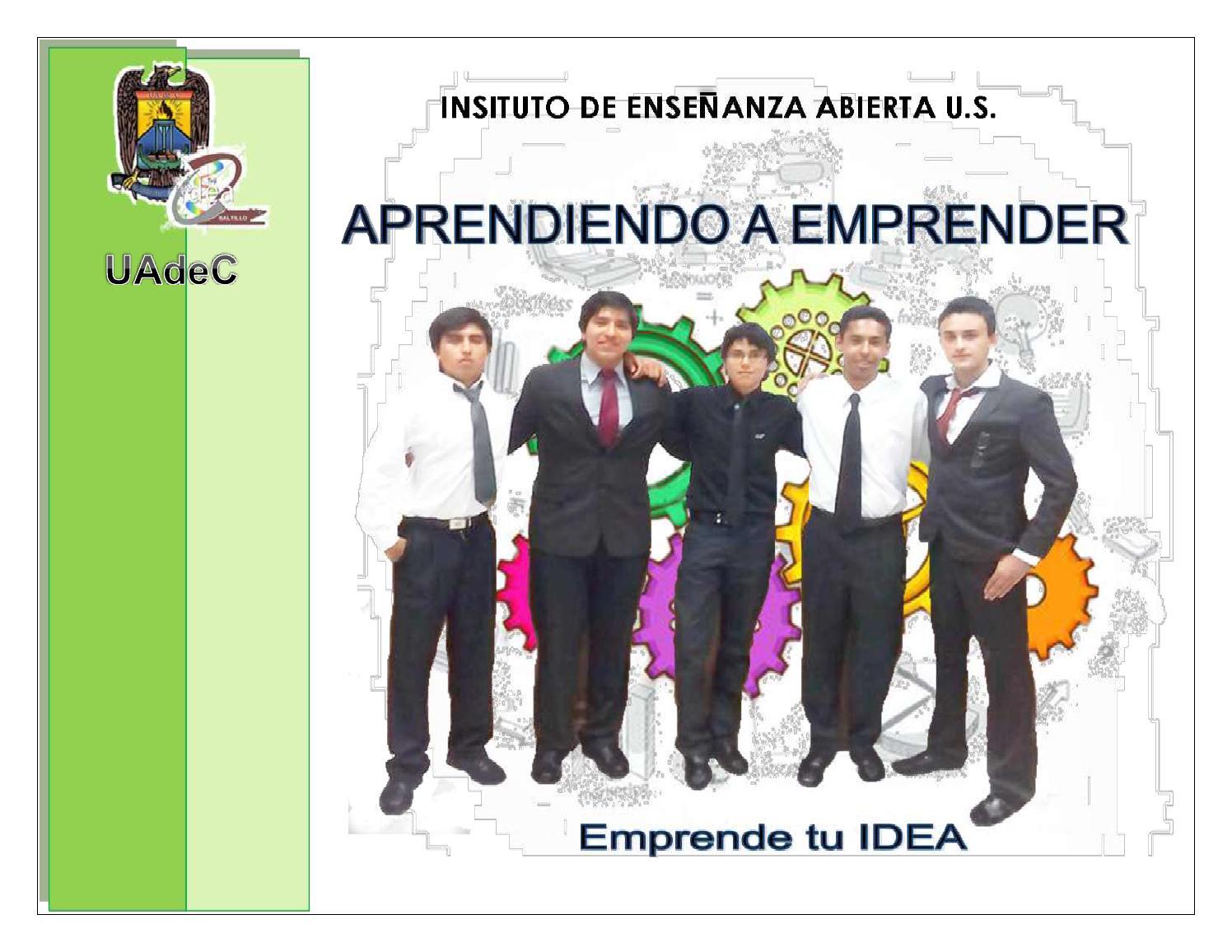 Guía del Curso de Jóvenes Emprendedores by Perla Chiyoko - issuu