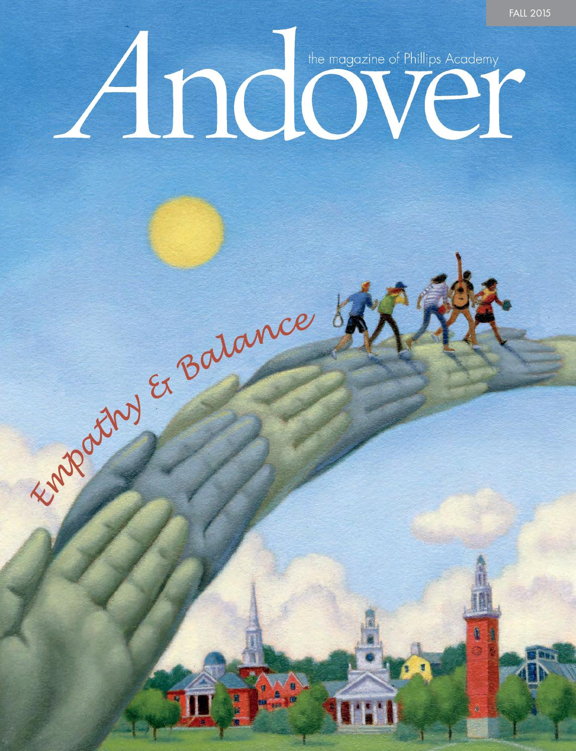 Andover magazine: Fall 2015 by Phillips Academy - issuu