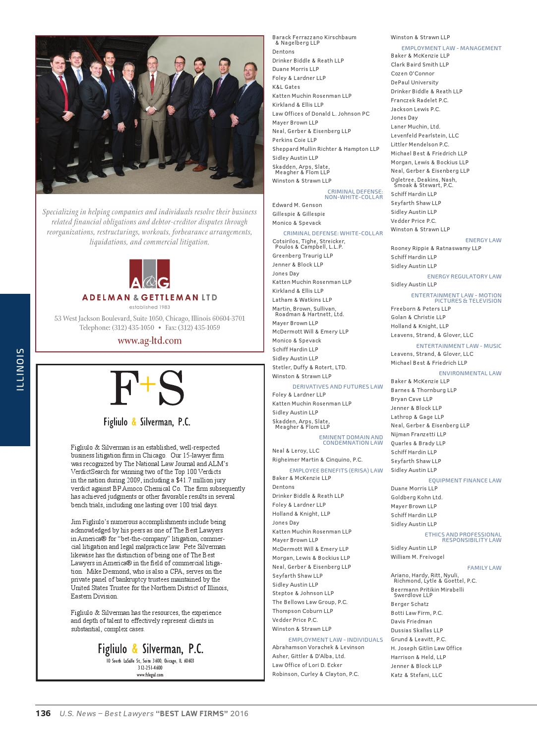 2016 Best Law Firms by Best Lawyers - issuu